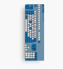 Quadrilateral Cowboy Keyboard Canvas Print