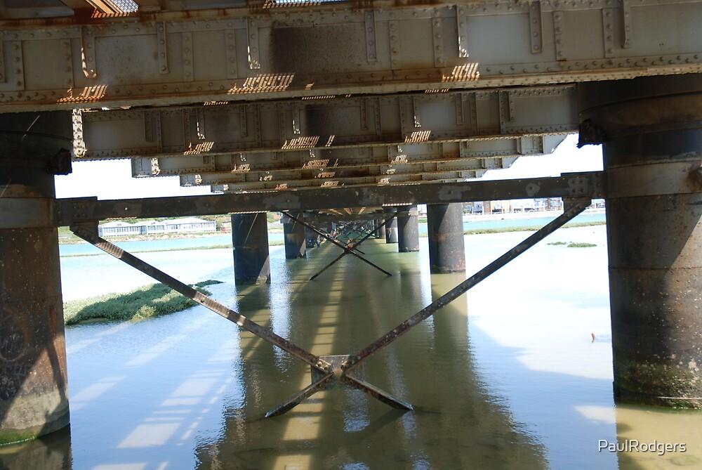 Rail Bridge over the River Adur by PaulRodgers