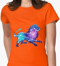 Leo Zodiac Constellation Watercolor Painting T-Shirt