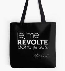 Je me revólte, donc je suis - Albert Camus Tote Bag