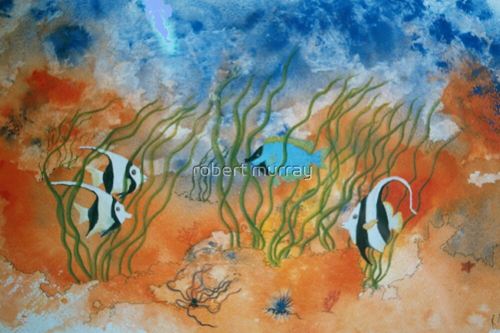 fish series...fish #4 by robert murray