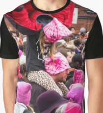 Young Girl Flying Graphic T-Shirt