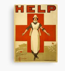 Nurse WWII Canvas Print