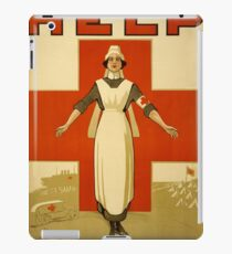 Nurse WWII iPad Case/Skin