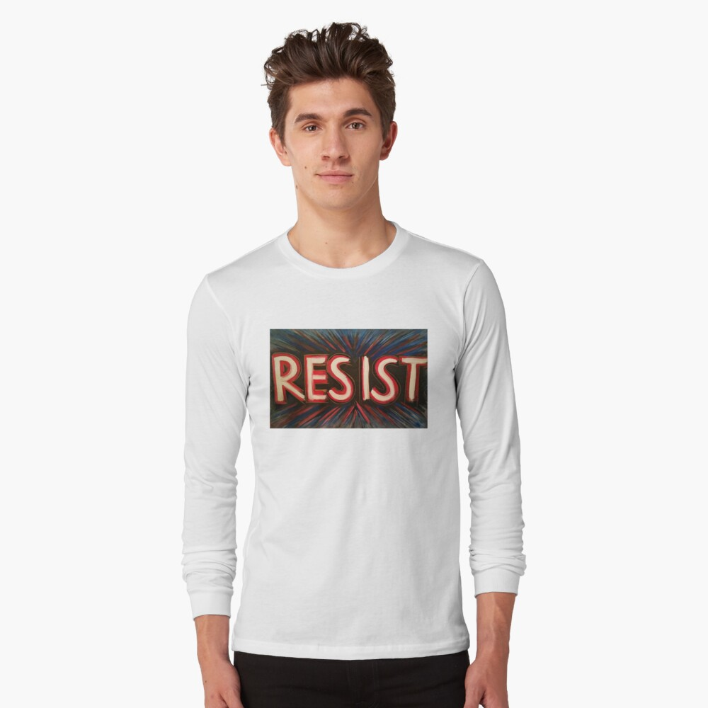 RESISTIR Camiseta de manga larga
