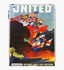 United WWII iPad Case/Skin