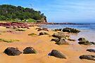 Bar Beach - Merimbula by Darren Stones