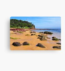 Bar Beach - Merimbula Canvas Print