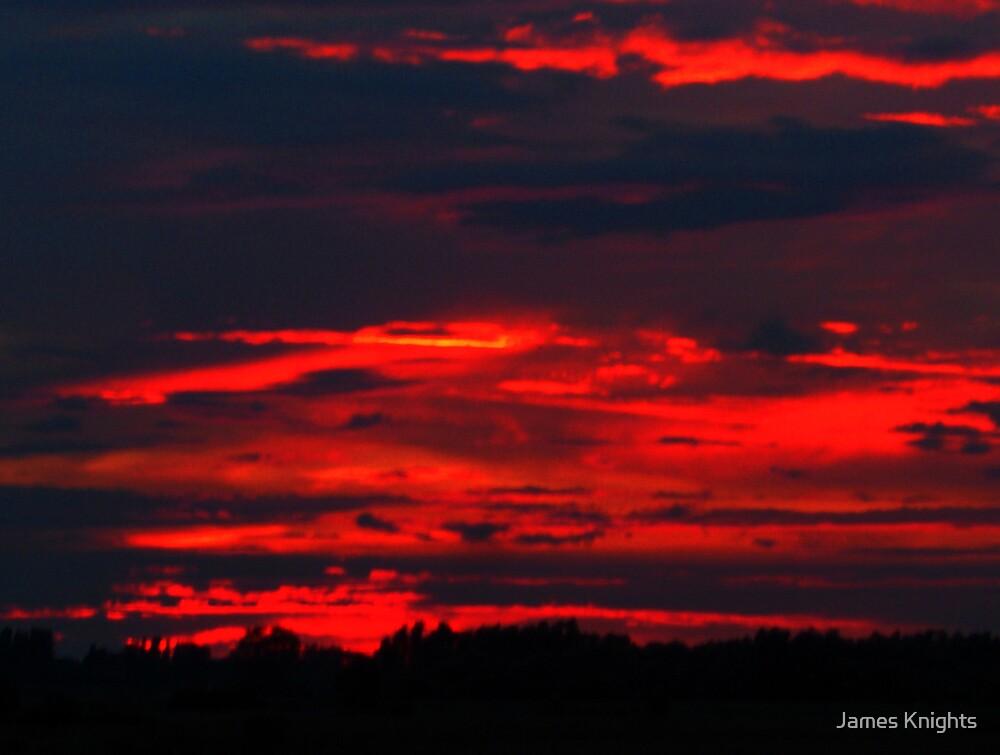 Horizon at Dusk by James Knights