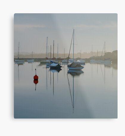 Swan Bay Harbour, Queenscliff Metal Print