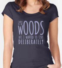 Walden (Crocus) Tailliertes Rundhals-Shirt