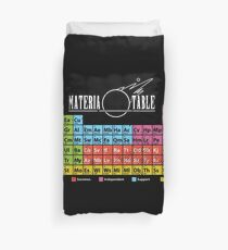 Materia Table Duvet Cover
