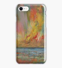 Hidden Heart Lava Sky iPhone Case/Skin