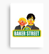 221B Baker Street - Sherlock Canvas Print