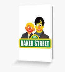 221B Baker Street - Sherlock Greeting Card