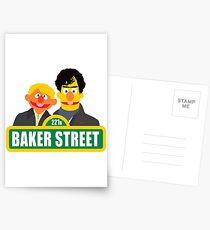 221B Baker Street - Sherlock Postcards
