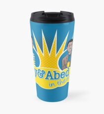 Troy and Abed in the Morning Travel Mug
