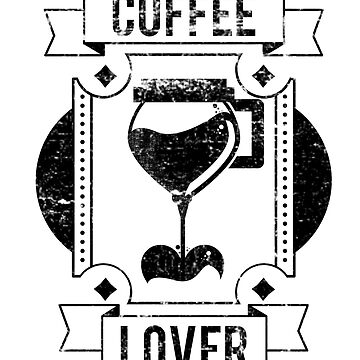 Coffee Lover T-shirt by Sutra-Lotus-Co