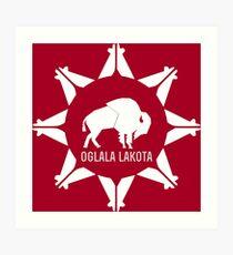 Oglala Lakota Art Print