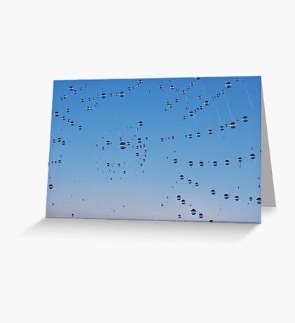 Web Galaxy Greeting Card