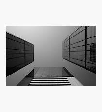 Looking Up v2 - Wan Chai, Hong Kong Photographic Print