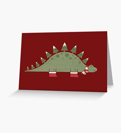 Christmasaurus Greeting Card