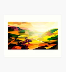 Valley Art Print