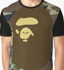 Bape Camouflage  Graphic T-Shirt