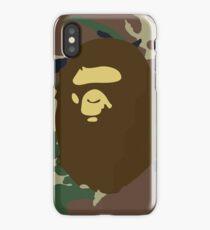 Bape Camouflage  iPhone Case/Skin