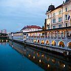 Along the Ljubljanica by Rae Tucker
