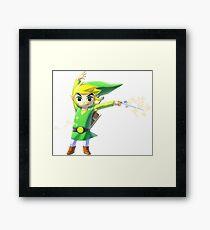 Zelda WindWaker Framed Print
