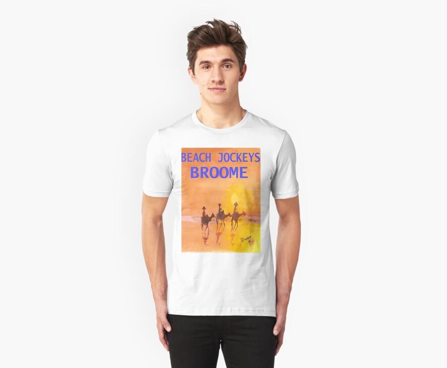 Beach Jockeys Broome by robert murray