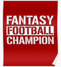 Fantasy Football Champion Poster