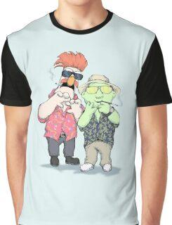 Beaker & Bunsen In Las Vegas Graphic T-Shirt