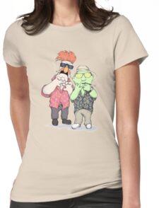 Beaker & Bunsen In Las Vegas Womens Fitted T-Shirt