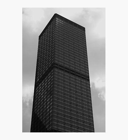 Looking Up v5 - Cheung Kong Centre, Hong Kong Photographic Print