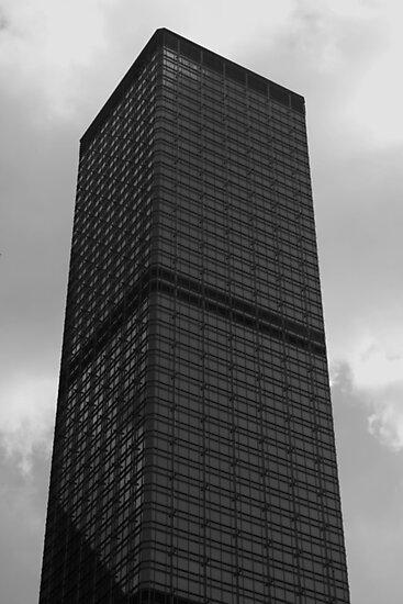 Looking Up v5 - Cheung Kong Centre, Hong Kong by Jonathan Russell