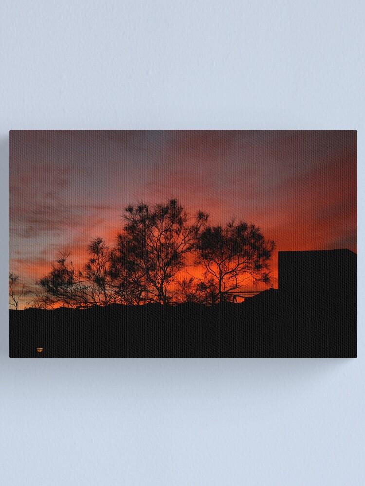 Alternate view of Vermillion sunrise Canvas Print
