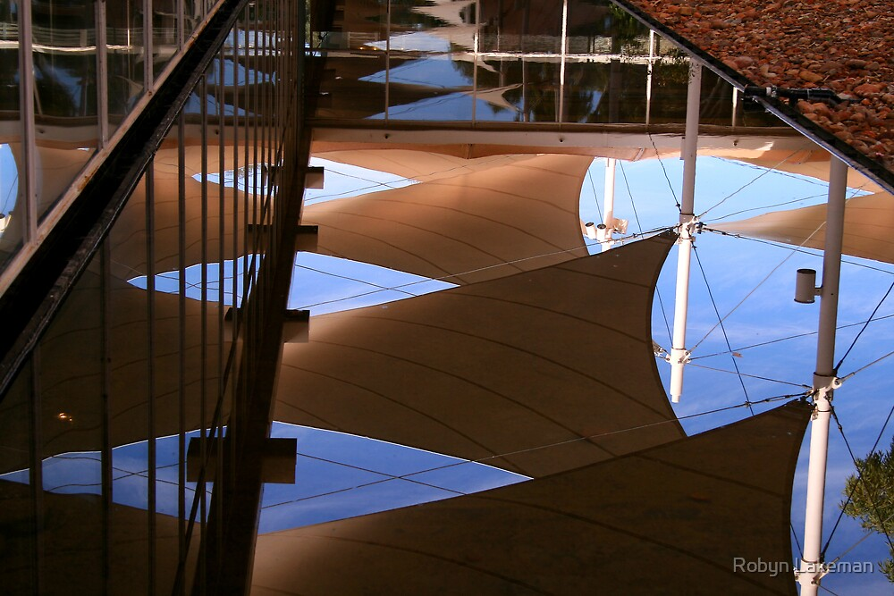 Reflections at Sails by Robyn Lakeman