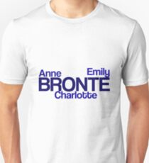 The Brontes Anne Emily and Charlotte Unisex T-Shirt
