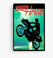 Retro TV Series ' Streethawk '  Canvas Print