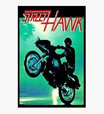 Retro TV Series ' Streethawk '  Photographic Print