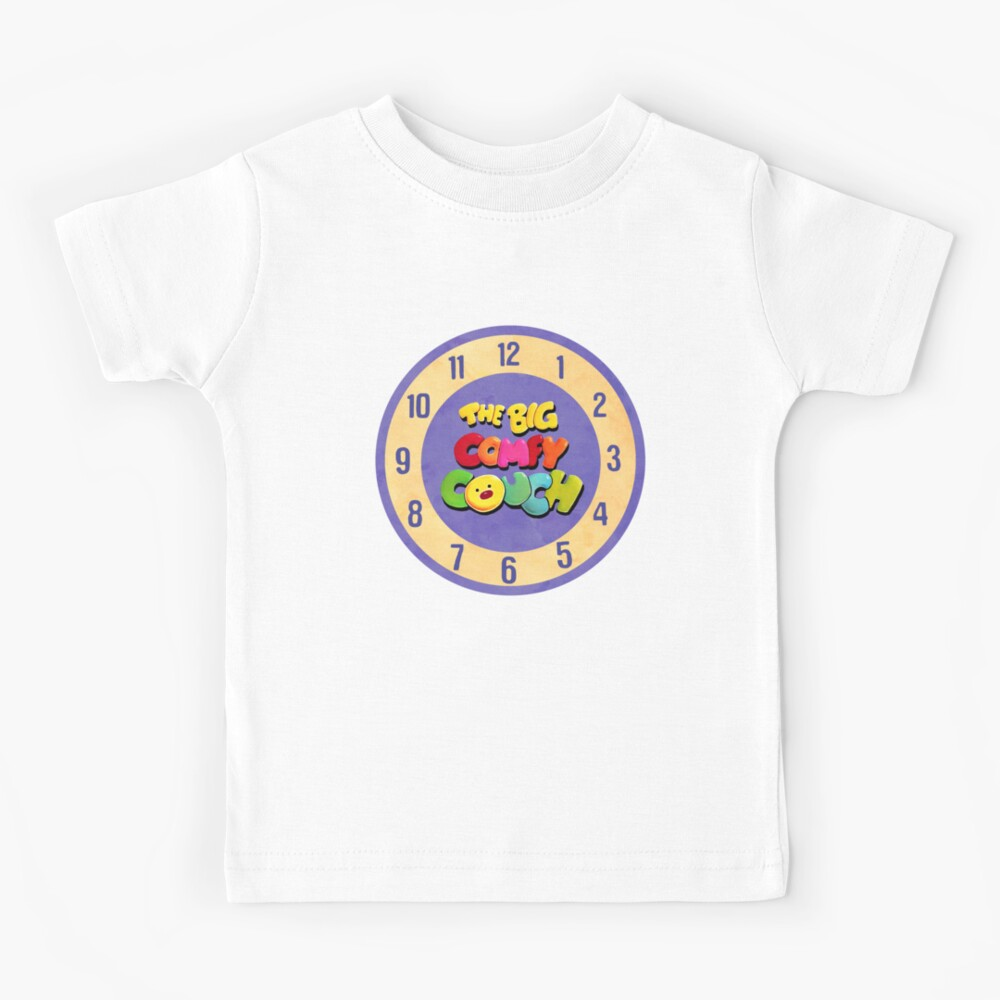 The Big Comfy Couch Clock Kids T-Shirt