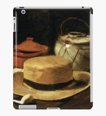 Still-Life with Yellow Straw Hat iPad Case/Skin