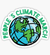 People's climate march  Sticker