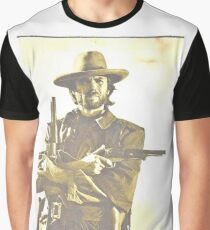 CLINT EASTWOOD Graphic T-Shirt
