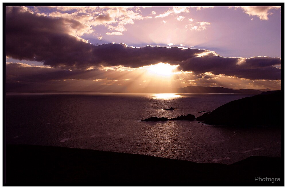 Sunsetting at Cape Bruny by Photogra