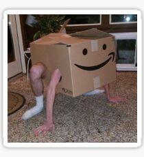 Box Person Meme Sticker
