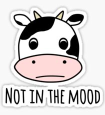 Not in the Mood Sticker