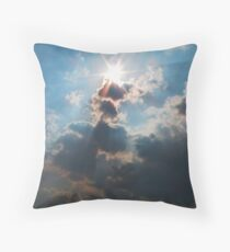Sky Blister Throw Pillow